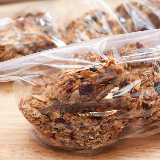 "Homemade Granola ""Bars"" – Vegan."