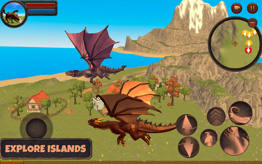 Dragon Simulator 3D: Adventure Game apktreat screenshots 1