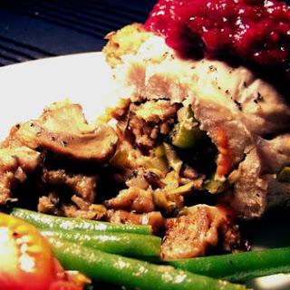 Turkey-Mushroom Roulade