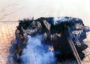 Photo: Katmandu - Pashupati Nath, kremacja / Cremation