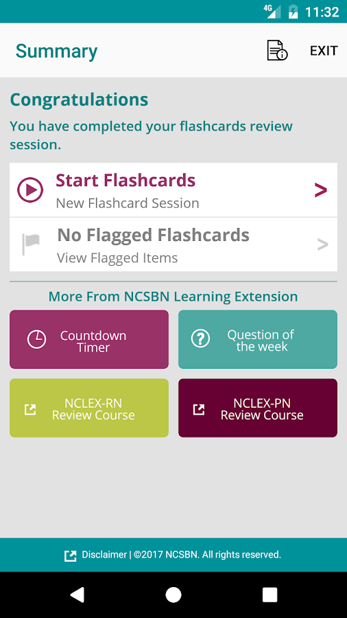 NCSBN Medication Flash Cards 2- screenshot