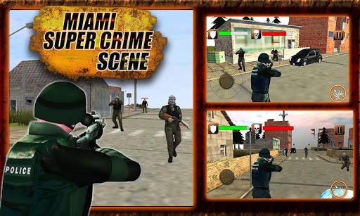 Miami Super Crime Scene