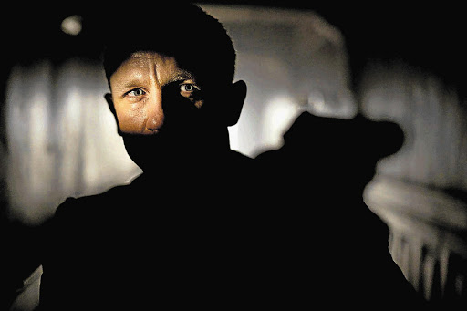 Daniel Craig gets to show off his strengths as an actor in the latest James Bond film, 'Skyfall'. File photo