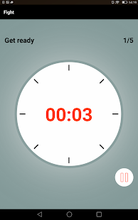 Boxing Round Interval Timer- screenshot thumbnail