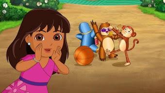 Dora et l'horloge du zoo
