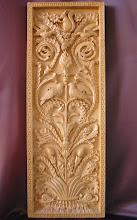 Photo: Tamaño: 71 x 26 cm. || Talla en madera. Woodcarving.   Puedes conocer más de este artista en el blog: http://tallaenmadera-woodcarving-esculturas.blogspot.com/