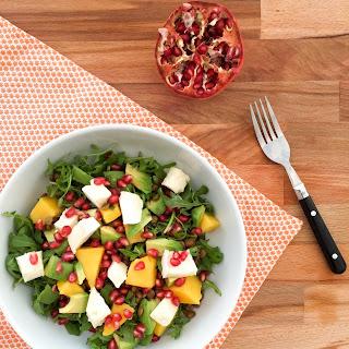 Mango Pomegranate Salad Recipes.