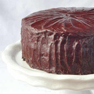 Chocolate Fudge Cake with Easy Fudge Frosting.