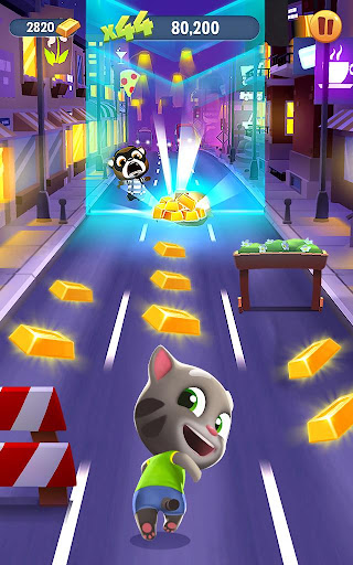 Talking Tom Gold Run - screenshot