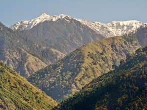Photo: Dhauladhar Mountains view from the Snow Monk CAmps