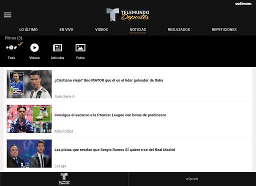 Telemundo Deportes - En Vivo screenshot 14
