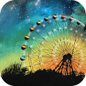 Shiny Sky Wheel Live Wallpaper icon