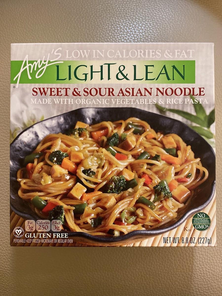 Light & Lean, Sweet & Sour Asian Noodle