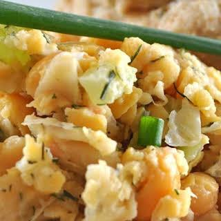 Vegetarian Chickpea Sandwich Filling.