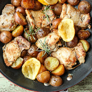 Skillet Chicken Garlic Rosemary Recipes
