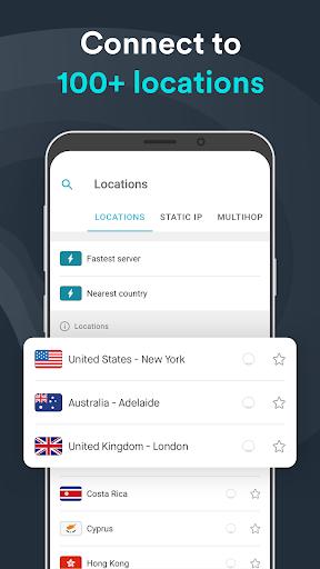 Surfshark VPN - Secure VPN for privacy & security 2.6.5 screenshots 4