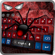 Amazing Red Spider Hero Keyboard
