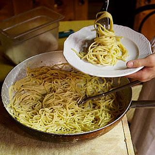 Spaghetti Cacio E Pepe Recipe
