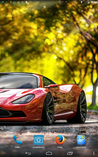 Speed cars. Live wallpaper.