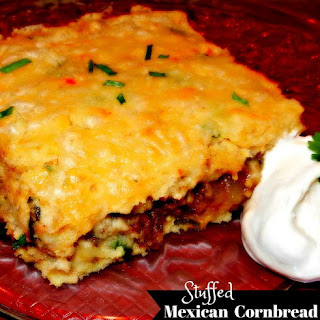 Stuffed Cornbread With Ground Beef Recipes.