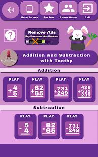 Sumas y Restas con Toothy Screenshot