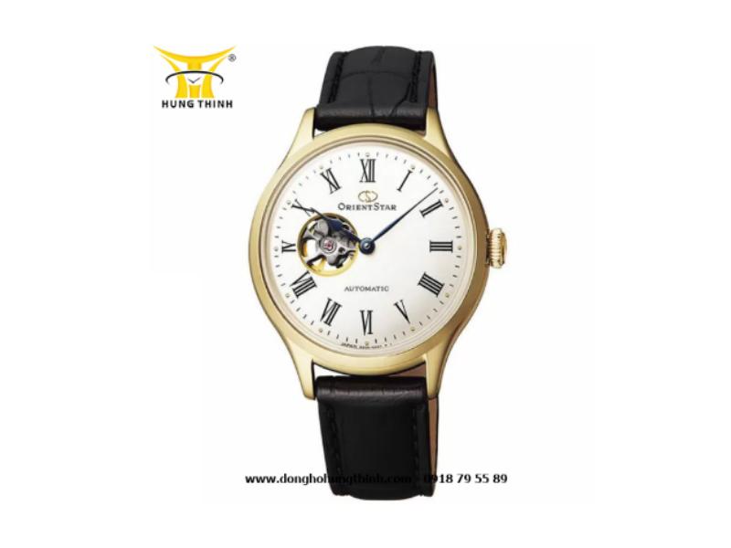 Đồng hồ Orient Star dây da lộ máy có vân cao cấp 2 lớp chống thấm (Chi tiết sản phẩm tại đây)
