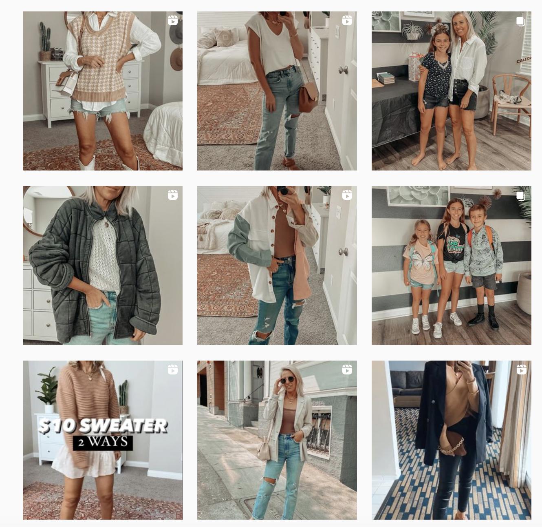 instagram filter theme example