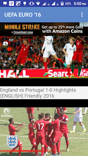 Highlight All Football Matches - náhled