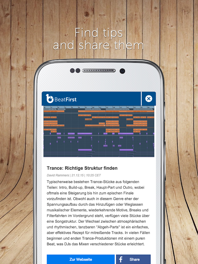 BeatFirst- screenshot