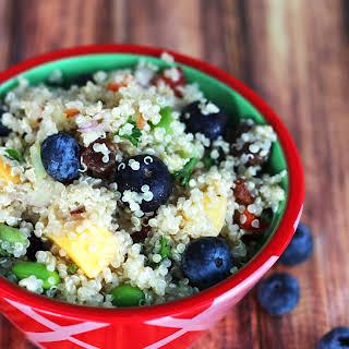 Blueberry Quinoa Salad.