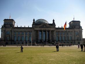 Photo: Der Reichstag in Berlin bei einem Ausflug vom Ferienhaus http://www.inselhaus-rheinsberg.de im Hafendorf Rheinsberg