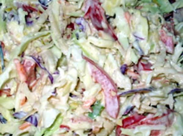 Always A Great Side Dish, Especially In The Summer, This Cole Slaw Dressing Recipe Is The Best I Have Found.  It Is Really Deee-licious!