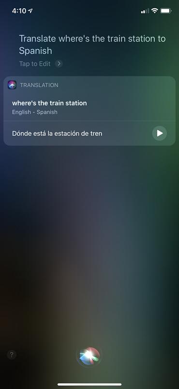 Spanish Translation Example