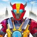 Iron Robot War Hero - Superhero Fighting Game 2019 icon