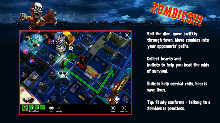 Zombies!!! ® Board Game - screenshot