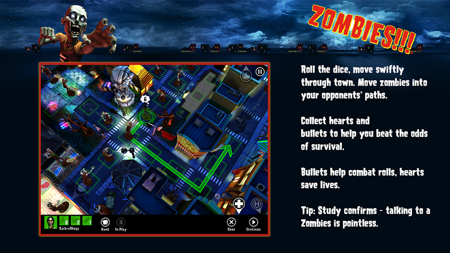 Zombies!!! ® Board Game v1.1.109 Cracked APK+DATA - screenshot