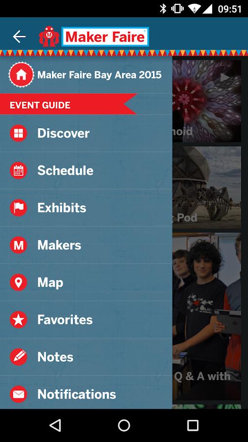 Maker Faire - The Official App- screenshot
