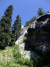 Photo: Granite outcrop on the way up to Santa Fe Baldy