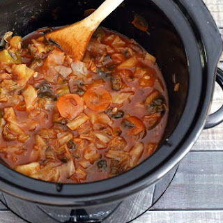 Vegetarian Cabbage Soup Crock Pot Recipes.