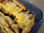 Cheesy Oven Fried Potatoes Recipe