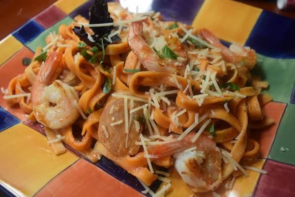 Seafood Sausage With Pasta Recipe