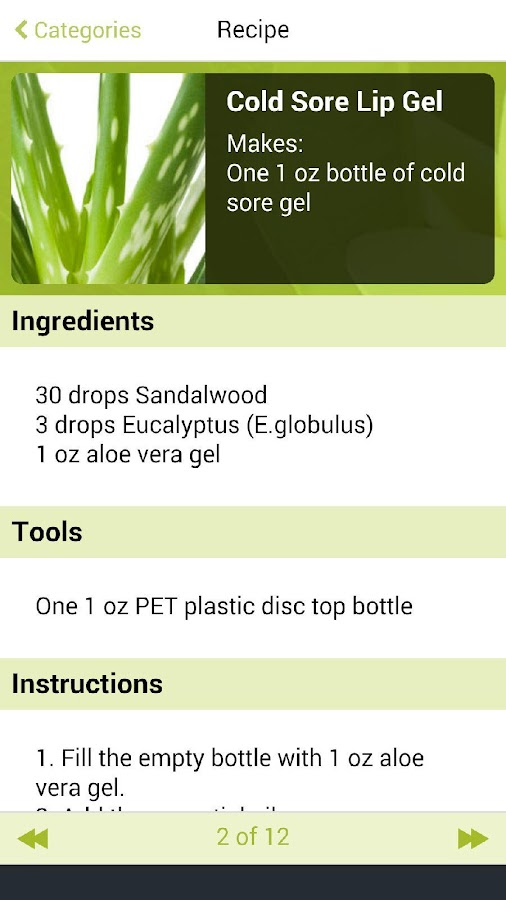 Aromahead's Natural Remedies- screenshot