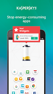 Kaspersky Battery Life: Saver & Booster - náhled