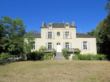 château à Saint-Pierre-le-Moûtier (58)