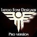 Tattoo Font Designer ❤️ Pro version