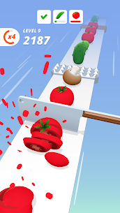 Perfect Slices Mod Apk V1.2.7(Unlimted Money) 4