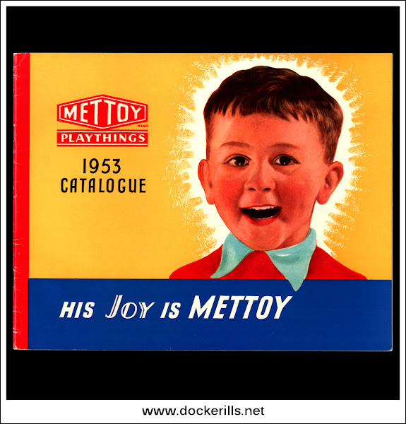Photo: Mettoy Catalogue 1953 - Front Cover.  Visit my blog - Collecting Tin Toys at  http://tinplatetoys.blogspot.co.uk/