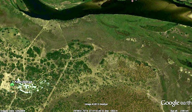 Photo: KIFI next to Kavango river