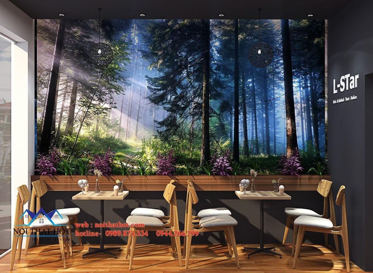thiết kế quán cafe kết hợp shop thời trang 6