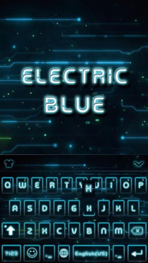 Electric-Blue-Keyboard-Theme 6